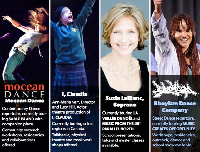Mocean Dance; I, Claudia; Suzie LeBlanc, Soprano; Bboyizm Dance Company