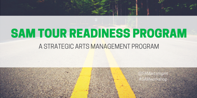 Strategic Arts Management Tour Readiness Program