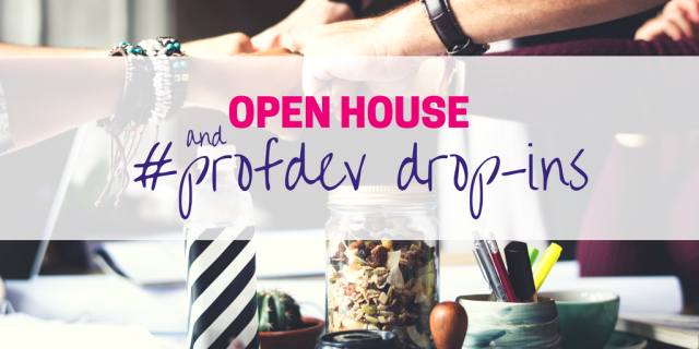 SAM Open House and Professional Development Drop-Ins