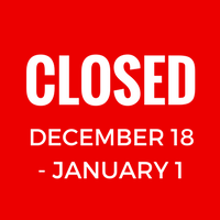 Strategic Arts Management will be closed for the holidays from December 18, 2017, to January 1, 2018